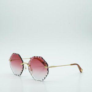 BRAND NEW CHLOE Chloé Gold/Pink Ce143s 823